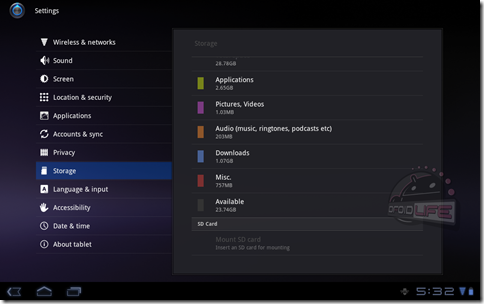 Xoom-Android-3-2-Honeycomb-storage