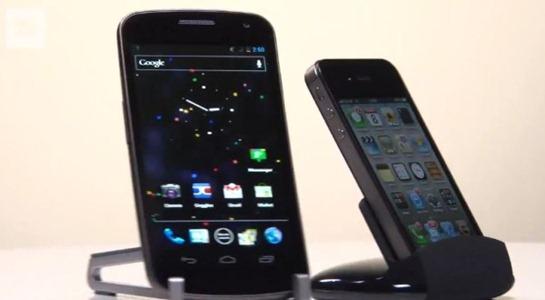 Samsung-Galaxy-Nexus-vs.-iPhone-4S