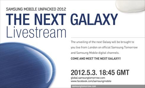 Samsung Galaxy S3 ecco i link ufficiali per seguire la diretta streaming