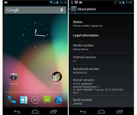 Installare Jelly Bean su Galaxy Nexus Guida Download