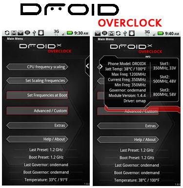 Risparmiare la nostra batteria con Android Overclock