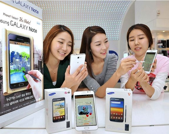 Samsung Galaxy Note: disponibile l'aggiornamento ad Android Ice Cream Sandwich