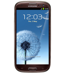 GALAXY SIII_amber brown_front_light