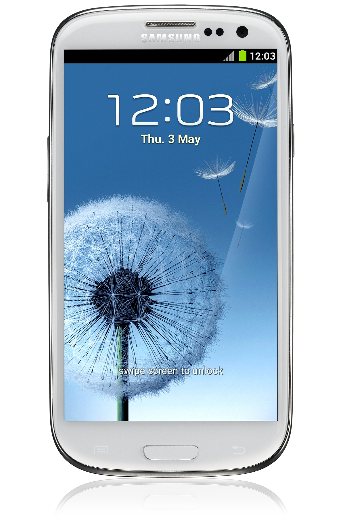 GALAXY S III white_Front