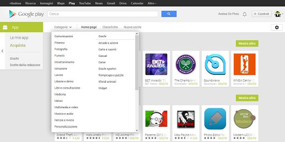 Google Play web 2