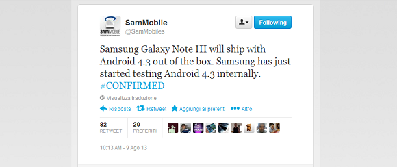 Note 3 Android 4.3- AndroidLAB