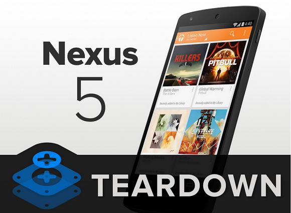 LG nexus 5 teardown