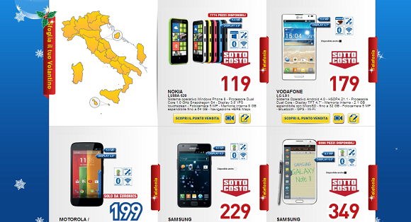 Offerte smartphone euronics messina for Volantino bernava messina