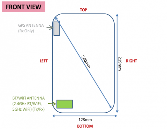 Samsung Galaxy Tab Pro 8.4: confermate le dimensioni