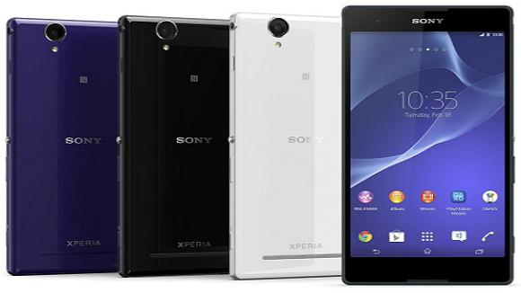 Sony Xperia T2 Ultra: scheda tecnica