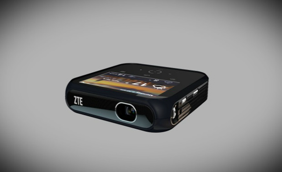 ZTE rende ufficiale Projector Hotspot