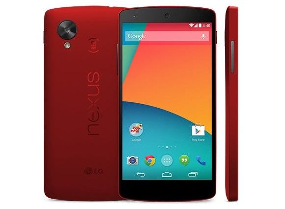 Avvistato il Nexus 5 rosso