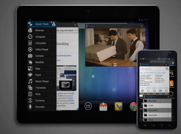 Multitasking: applicazione float per tutti i device Android