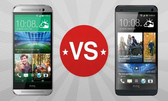 HTC One vs HTC One M8 [infografica]
