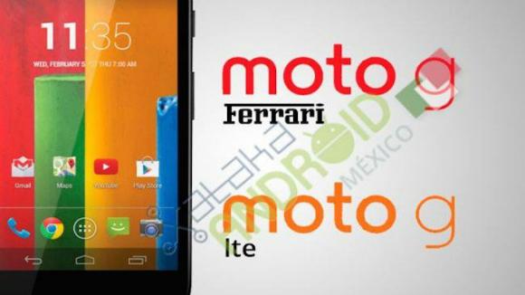 Motorola Moto G LTE e Ferrari Edition a Giugno
