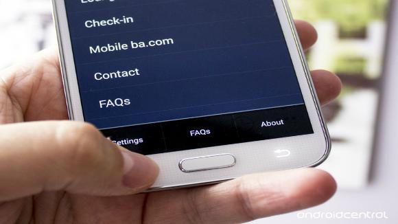 Samsung Galaxy S5: il pulsante Menu esiste