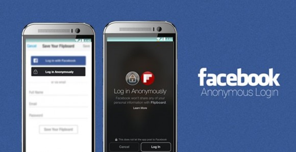 Facebook: in arrivo l'Anonymous Login [immagini e video]