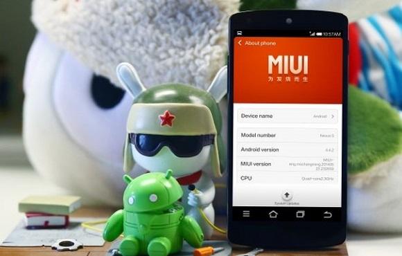 MIUI in Nexus 5