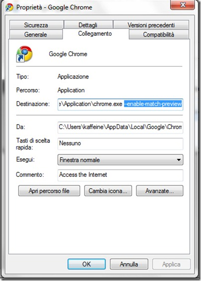 abilitare-instant-search-chrome