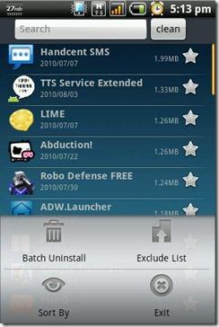 Apps-Uninstall