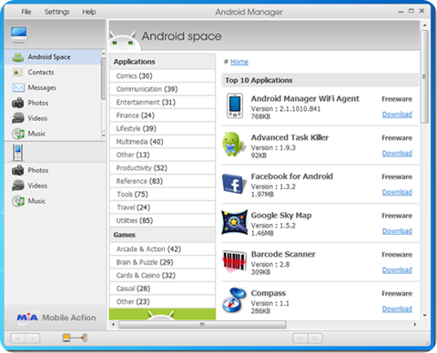 AndroidManagerMain
